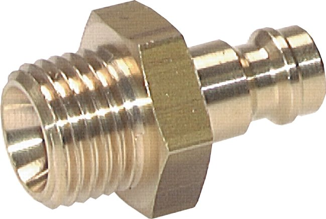 Coupling plug With Male thread, NW 5