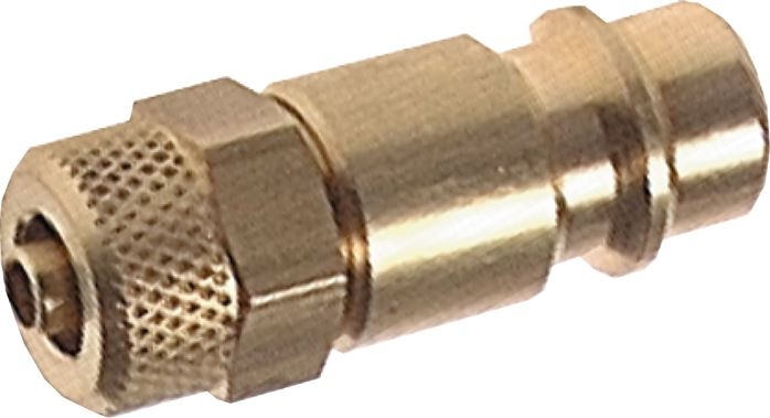 Coupling plug With Locking nut, NW 7.2