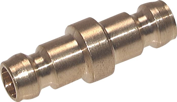 Coupling plugs, without valve, DN 6 (9 mm spigot)