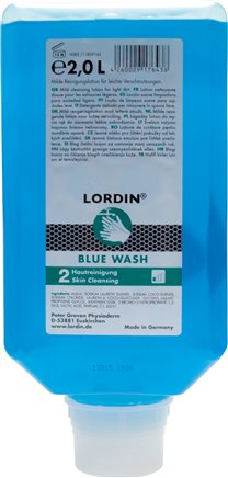 Mild wash lotion - light to medium soiling, LORDIN BLUE WASH