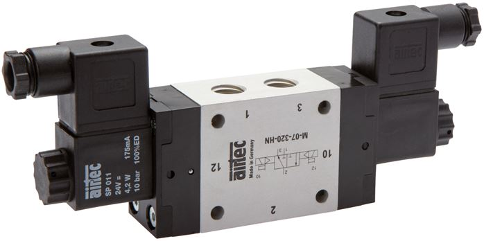 3/2-way solenoid impulse valves, Series M
