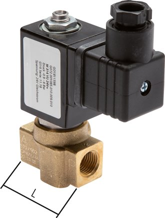 3/2-wayVacuum valves- direct control without external air, 4 - 130 m³/h