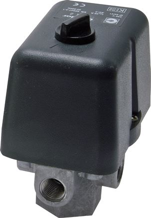 Pressure switch with diaphragms for compressors model series 2-4, MDR