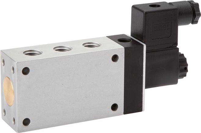 5/2-way solenoid valves with external air connection, Series ME