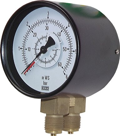 Differential pressure gauges, Class 1.6