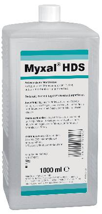 Hand disinfection and cleaner (food sector), MYXAL HDS (will be discontinued)