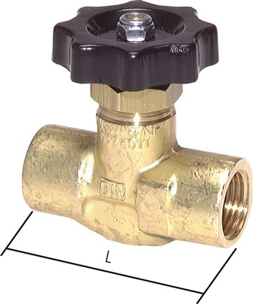 Needle shut-off valves, up to 100 bar