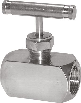Stainless steel needle shut-off valves, PN 400