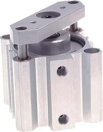 Double acting short stroke cylinder with non-rotating piston rod, ND