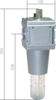 Mist lubricators model series 5, 18,000 l/min