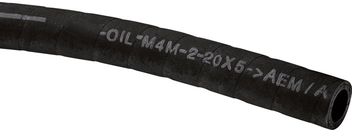 heat-resistant rubber hoses OLN M4M (to +135°C)