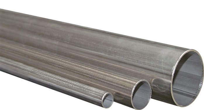 Stainless steel system pipes, DIN EN 10312