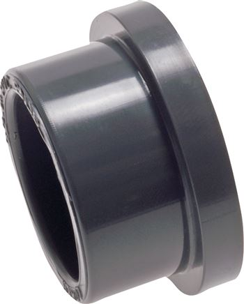 Adhesive flange adaptors for loose flanges PVC-U, PN 16