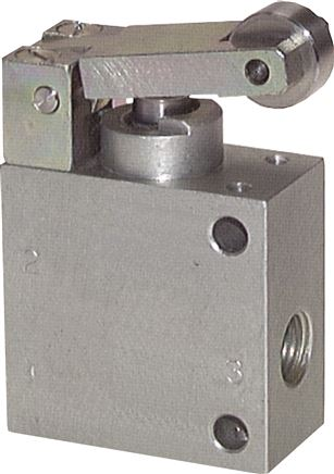 3/2-way roller valves & button lever valves, heavy duty