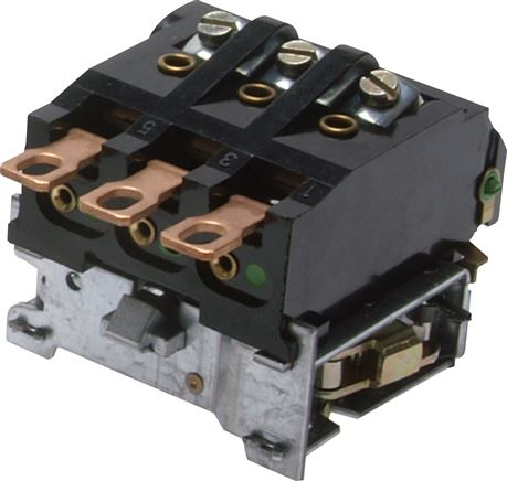 Overload relay for MDR pressure switch