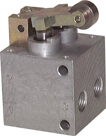 5/2-way roller valves, heavy duty