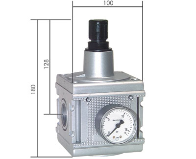 Pressure regulators, model series 5, 17,500 l/min***