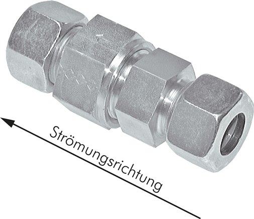 Check valves with cutting ring connection, up to 400 bar