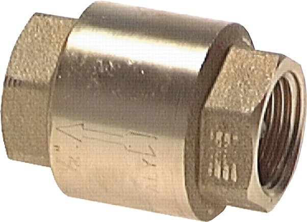 Check valves for vacuum, up to 25 bar
