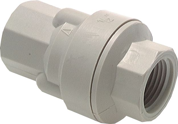 Check valves, polypropylene, PN 6