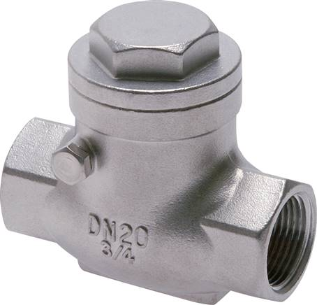 Swing check valves, metallic sealing, PN 16  (will be discontinued)