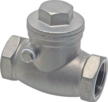 Swing check valves, metallic sealing, PN 16