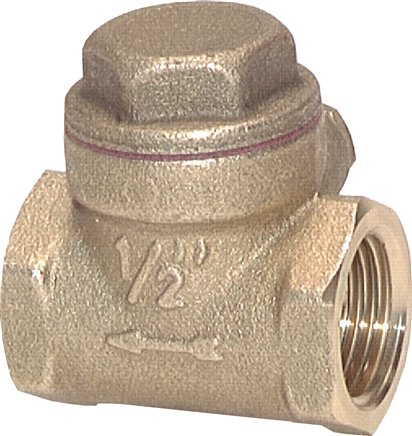 Swing check valves, up to 12 bar
