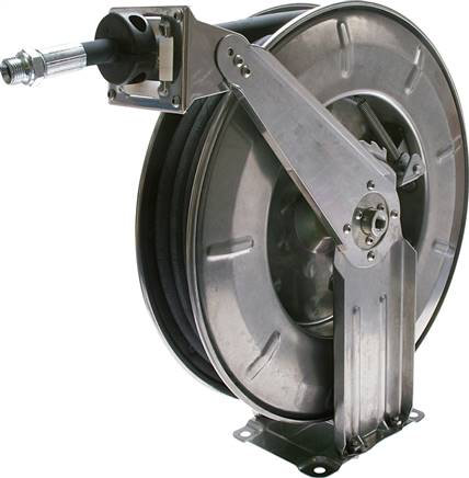 Automatic hose reels for hydraulic oil and water, PN 220