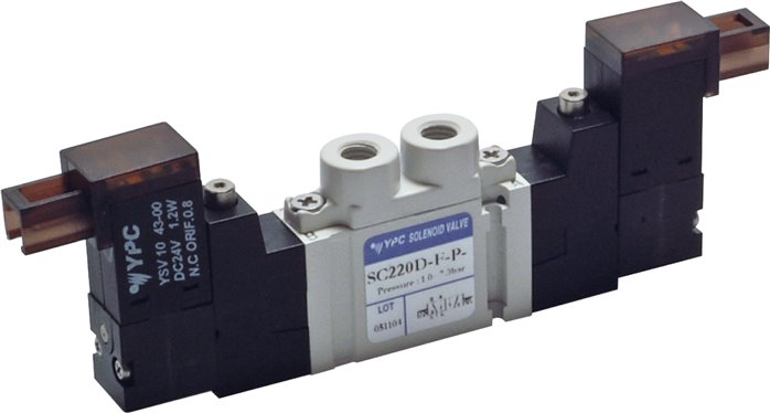 5/2-way solenoid valves M 5, SC200 model series (will be discontinued)