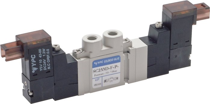 5/3-way solenoid valves M 5, SC200 model series (will be discontinued)