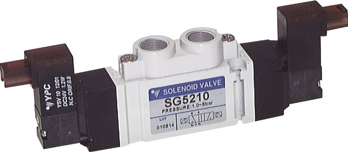"5/2-way solenoid valves G 1/8"", Series SC300 (will be discontinued)"