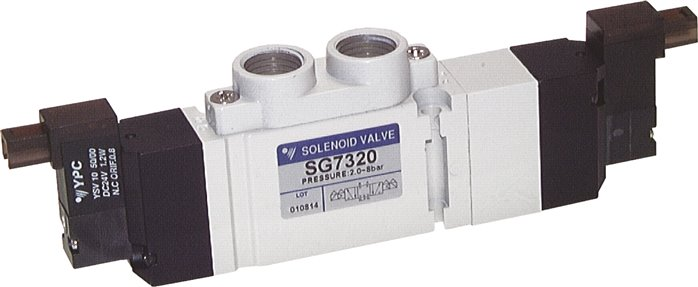 "5/3-way solenoid valves G 1/4"", SC400 model series (will be discontinued)"