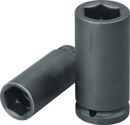 "Power wrench sockets, 1/2"" square (12,5)"