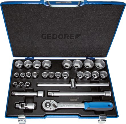 "Socket wrench sets, 1/2"" square (12,5 mm)"
