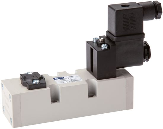 5/2-way solenoid valves (ISO 5599-1), Size 1 - SIV400 model series