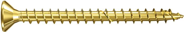 Particle board screws with countersunk head with Pozidriv cross recessed drive, FISCHER
