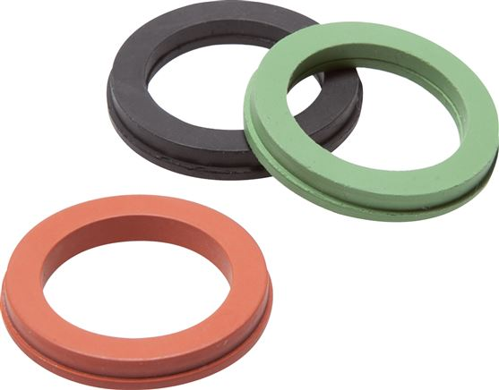 Replacement seals for safety compressor couplings, 42 mm