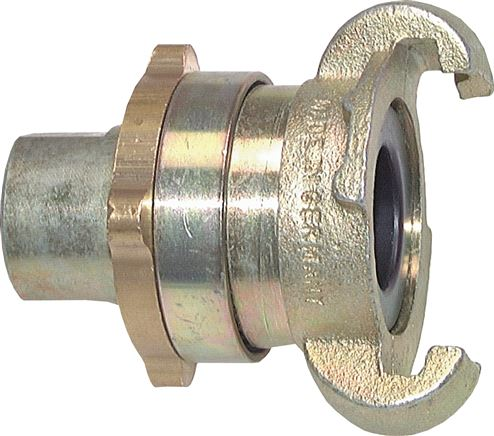 Safety compressor couplings With female thread (DIN 3238), 42 mm