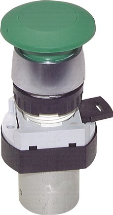 3/2-way button activated valves & rotary switch M5 (Ø 22.5), Series T 22