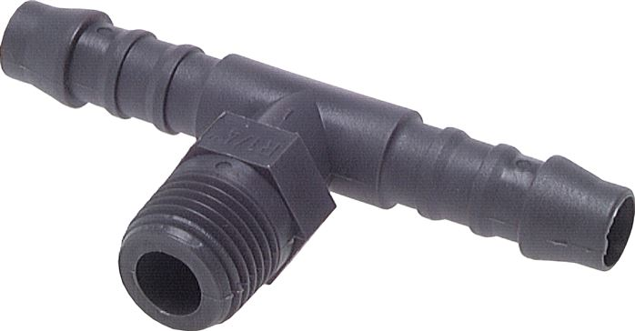 T-threaded nozzles, plastic, PN 10