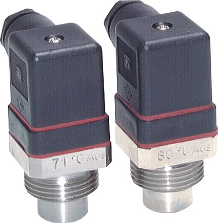 Temperature switches with fixed switch point, PN 64