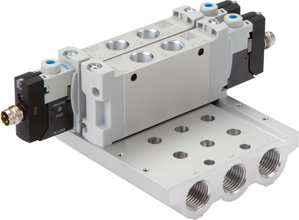 Festo multiple manifolds , for model series VUVG LK10 & LK14