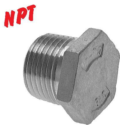 Locking screws with NPT thread, PN 16