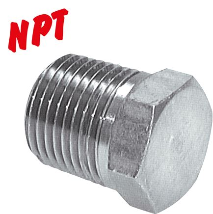 Locking screws with NPT-thread, up to 345 bar