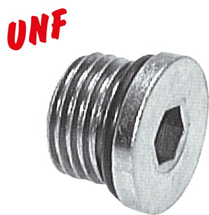 Locking screws with O-ring with UNF thread, up to 630 bar