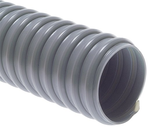 Light vacuum plastic coil tubes made from PVC, superflex