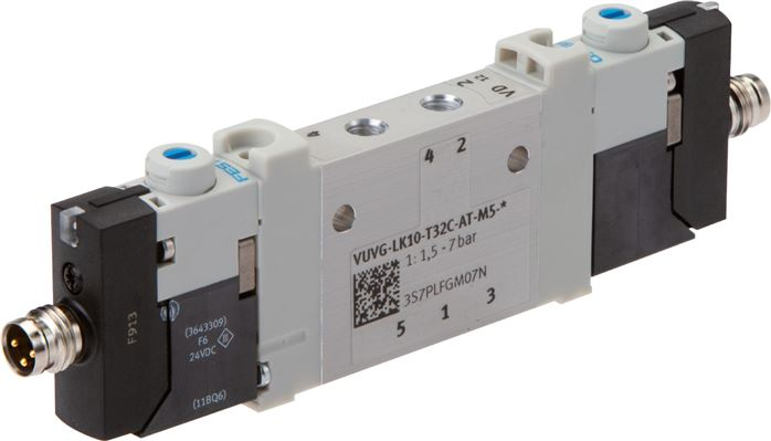 Festo solenoid valves M 5 & M 7, Model series VUVG LK10