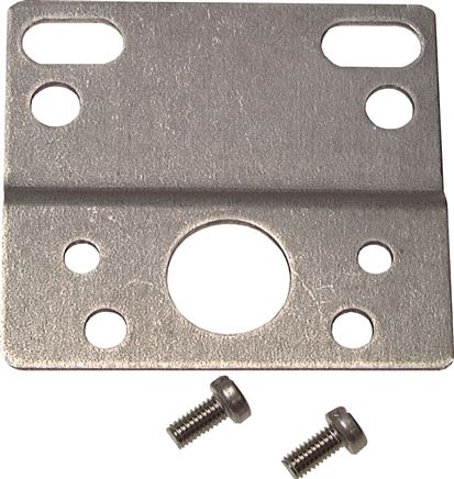 Mounting brackets for precision pressure and filter regulators