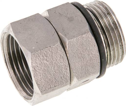 "Hot water rotary joint G 3/4""-G 3/4"", Stainless steel (WS DREH 34 ES)"