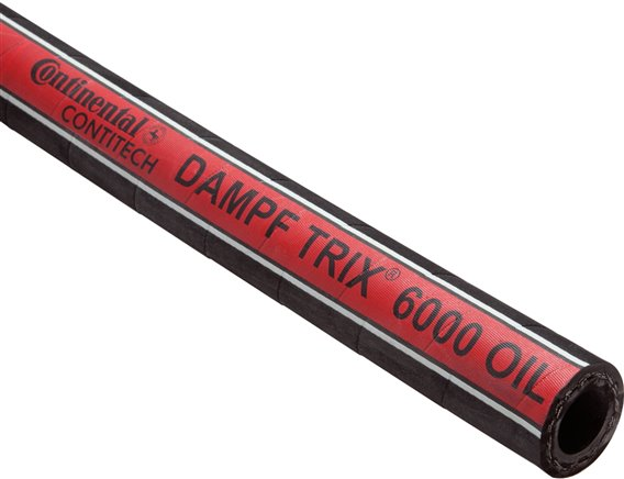 Oil resistant (external) steam hoses DAMPF-TRIX® 6000, DIN EN ISO 6134-2 B, up to +210°C
